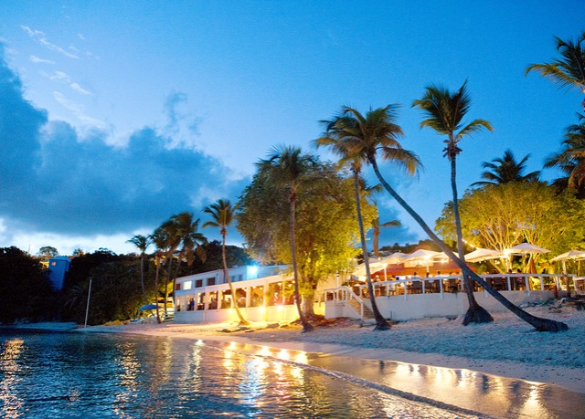Secret Harbour Beach Resort. St. Thomas, U.S. Virgin Islands, Caribbean NIGHTLIFE
