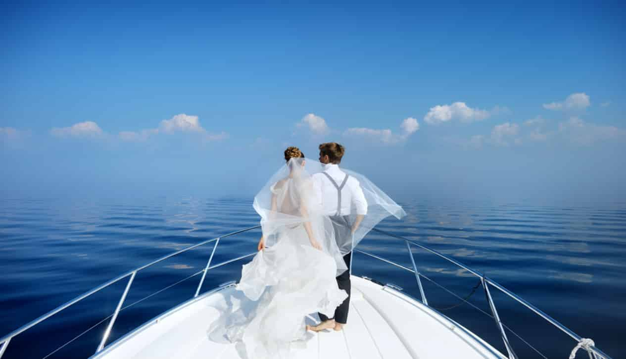 Cruise weddings are cheaper